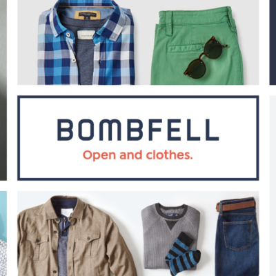 Bombfell Coupon: Keep More, Save More Get Up To 20% Off!