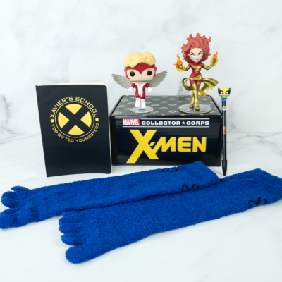 Marvel Collector Corps January 2019 Subscription Box Review – Classic X-Men