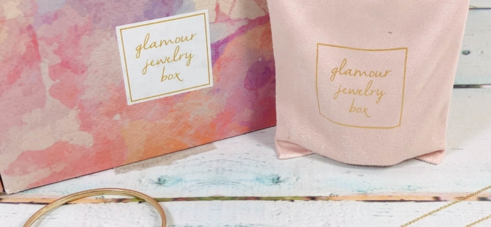 Glamour Jewelry Box January 2019 Subscription Box Review + Coupon