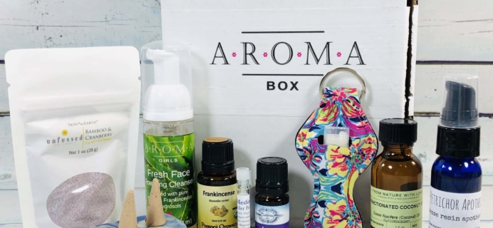 AromaBox by AromaGirls December 2018 Subscription Box Review + Coupon