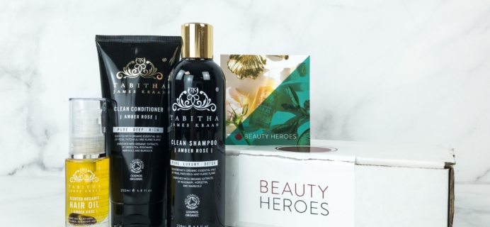 Beauty Heroes February 2019 Subscription Box Review
