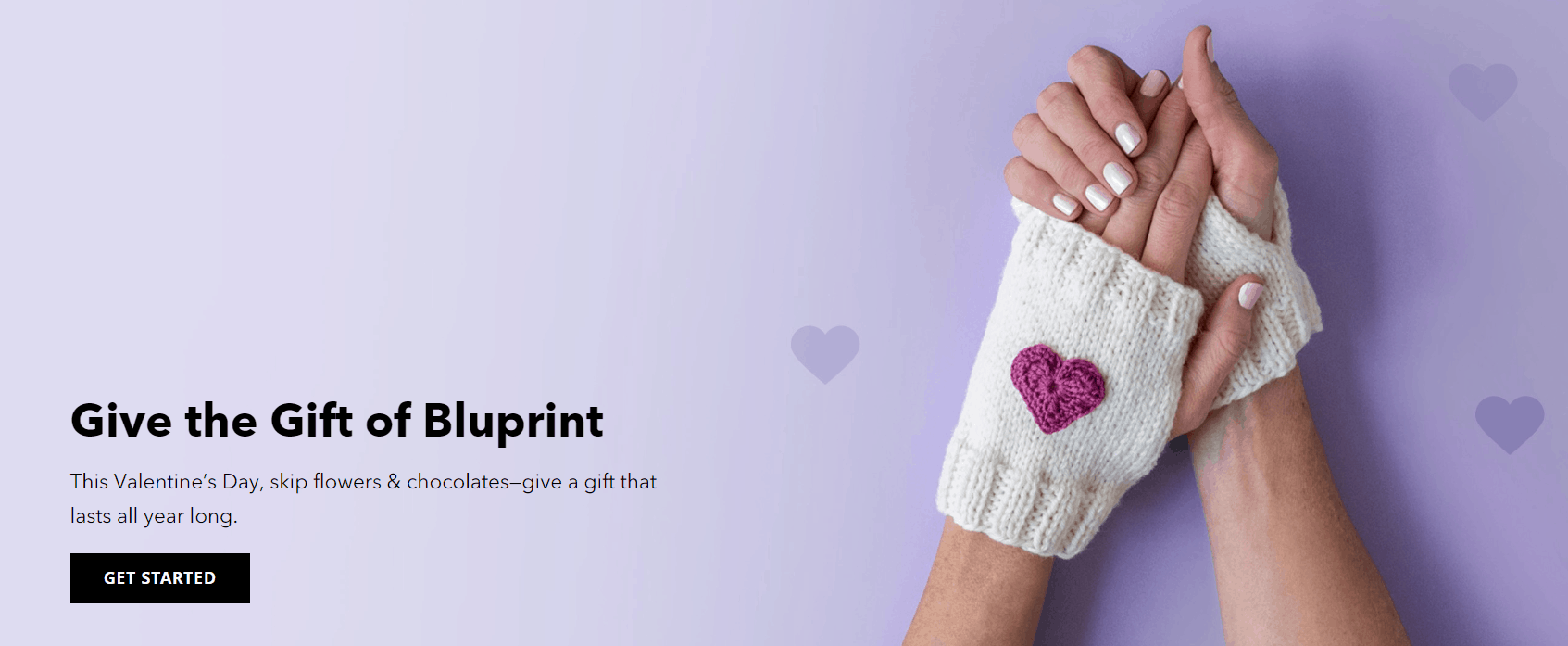Bluprint Valentine's Day Deal: Gift Bluprint and Get Up To $16 Off!