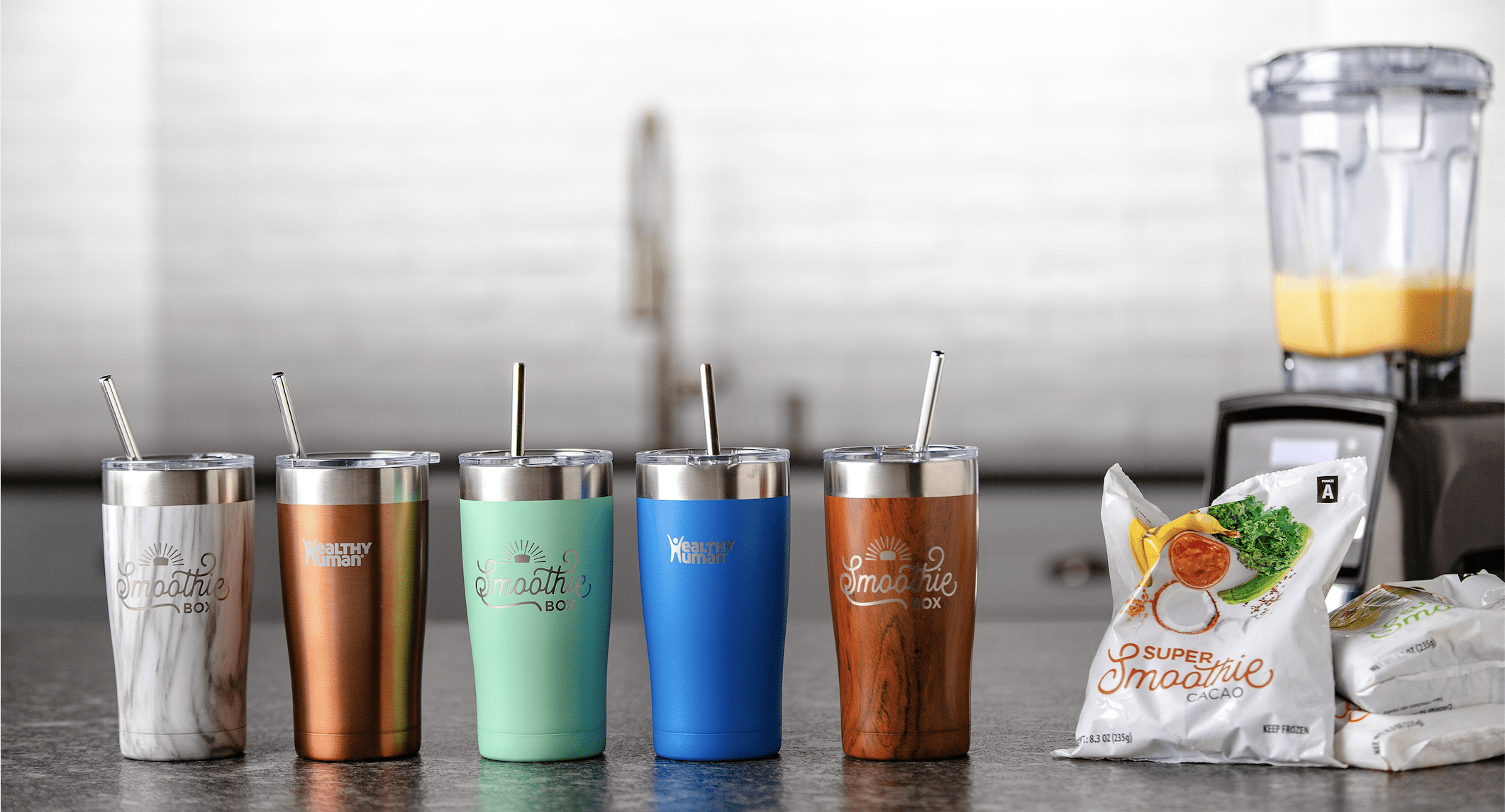 SmoothieBox Sale: Get Free Insulated Travel Mug + $10 Off For Life!