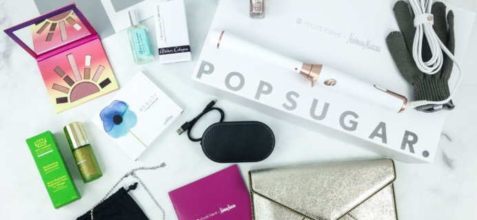 Popsugar Neiman Marcus Must Have Box 2018 Review + Coupon