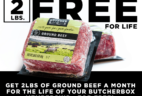 ButcherBox Deal: FREE Ground Beef For Life!