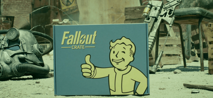 Loot Crate Fallout Crate April 2020 Theme Spoilers + Coupon