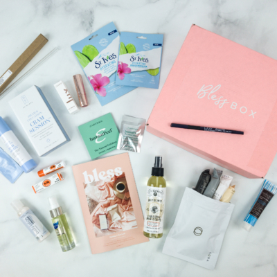 Bless Box January 2019 Subscription Box Review & Coupon