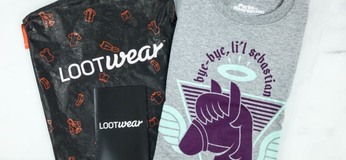 Loot Wearables Subscription by Loot Crate January 2019 Review & Coupon