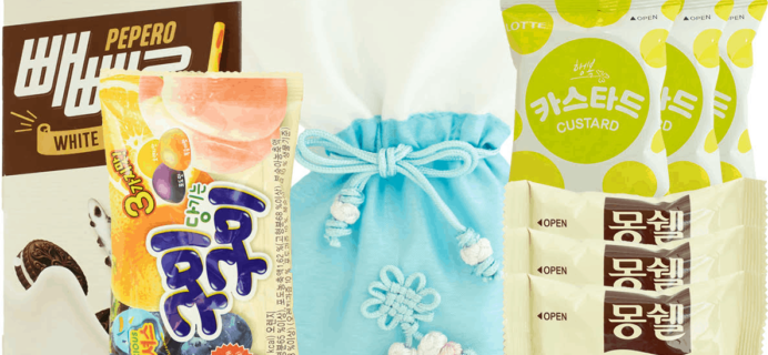 Korean Snack Box March 2019 FULL Spoilers + Coupon!