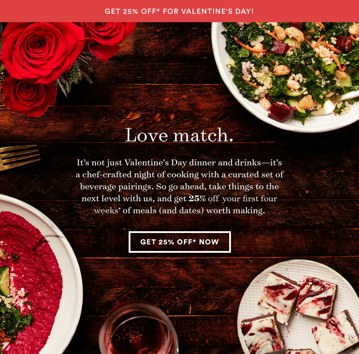 Plated Valentine's Day Coupon: Get 25% Off!