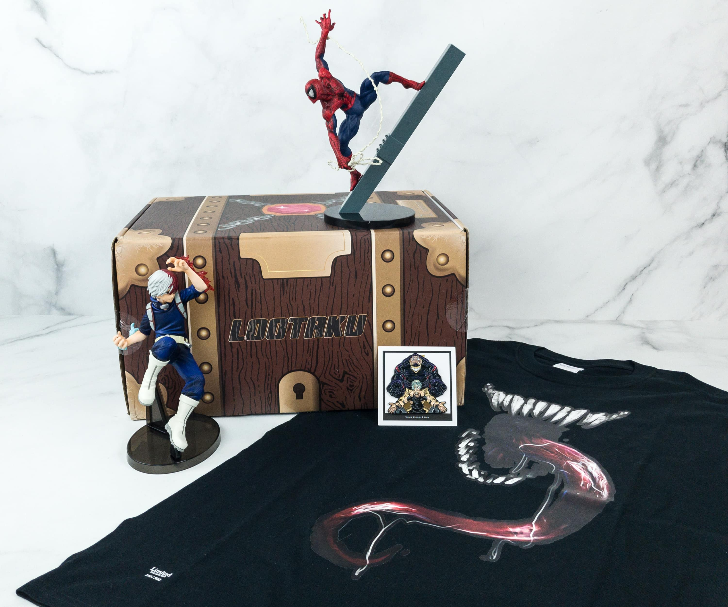 Lootaku January 2019 Subscription Box Review & Coupon