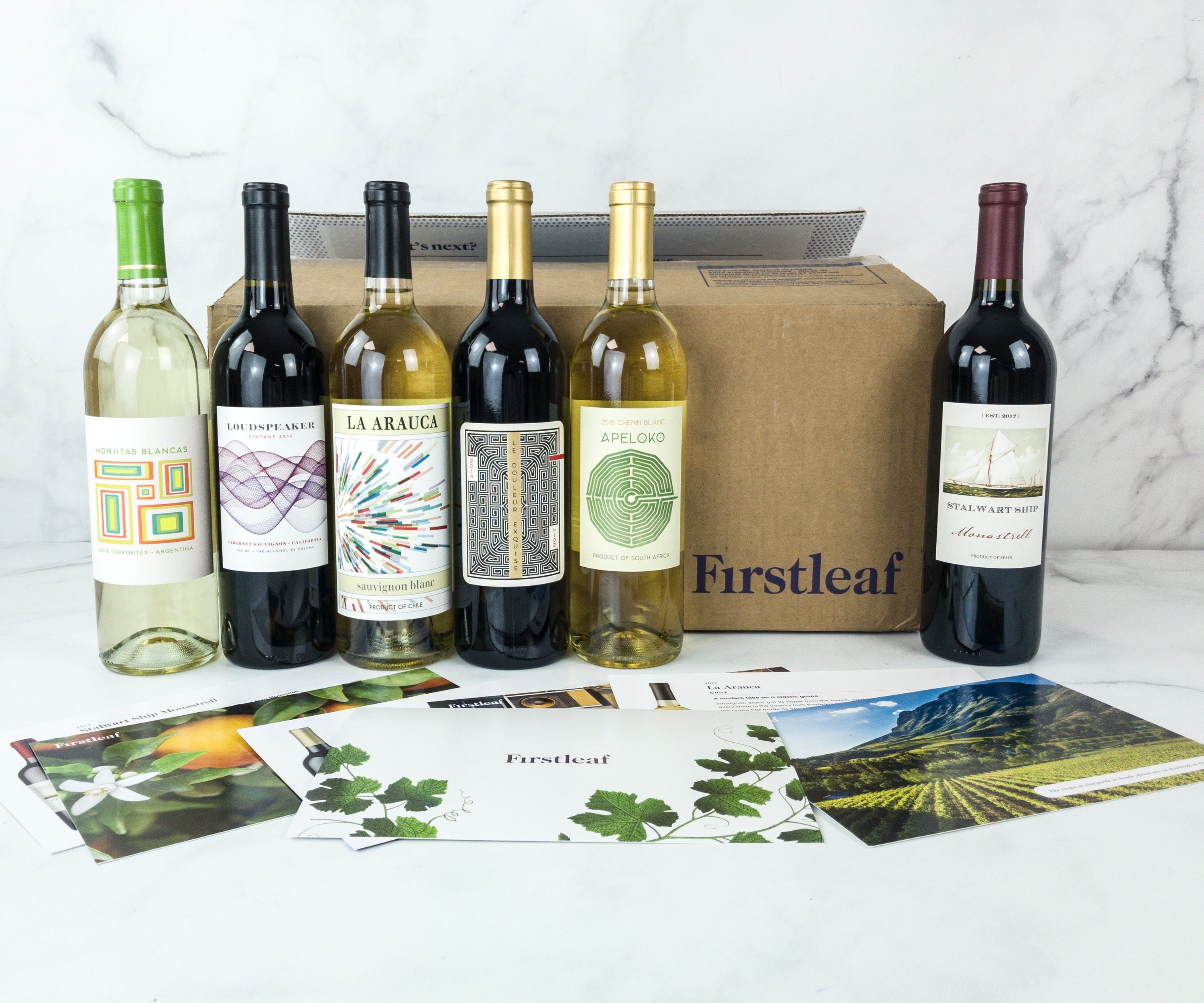 Firstleaf Wine Club February 2019 Subscription Box Review + Coupon