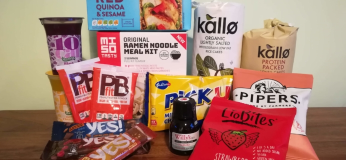 DegustaBox UK January 2019 Subscription Box Review + Coupon!