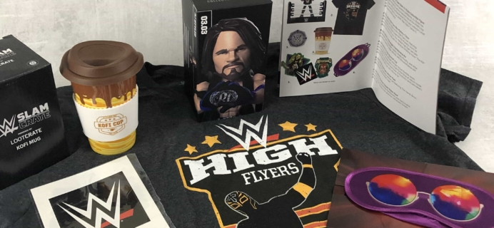 WWE Slam Crate December 2018/January 2019 Subscription Box Review + Coupons
