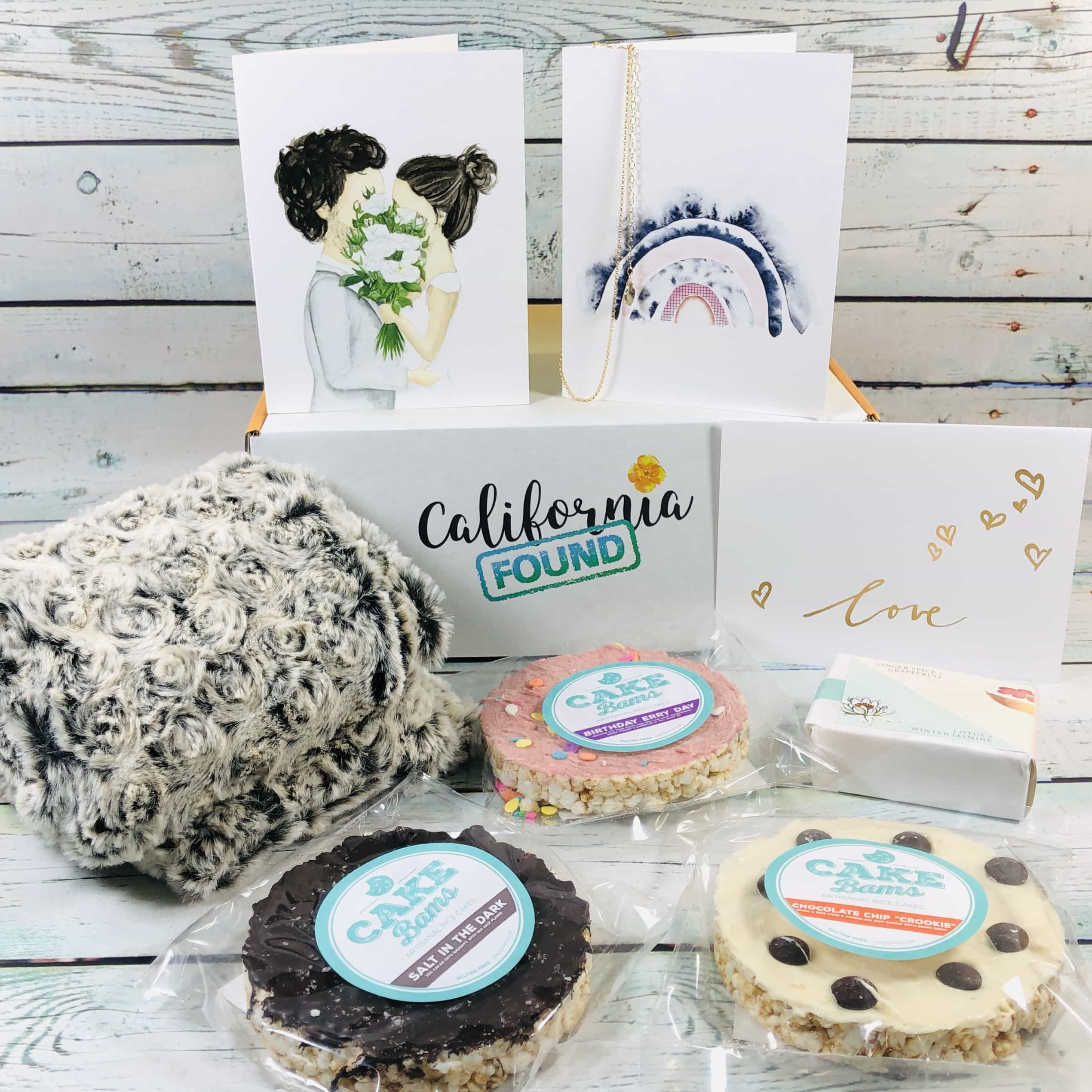 California Found January 2019 Subscription Box Review + Coupon