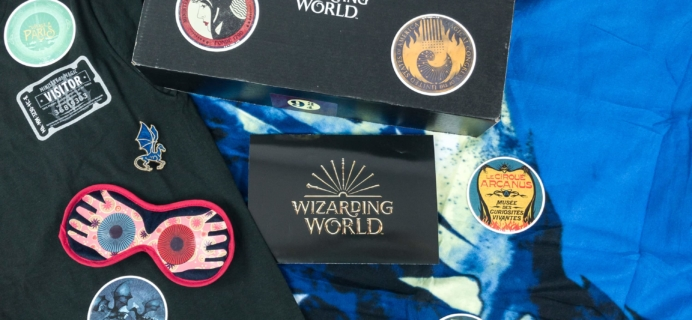 JK Rowling's Wizarding World Crate January 2019 Review + Coupon