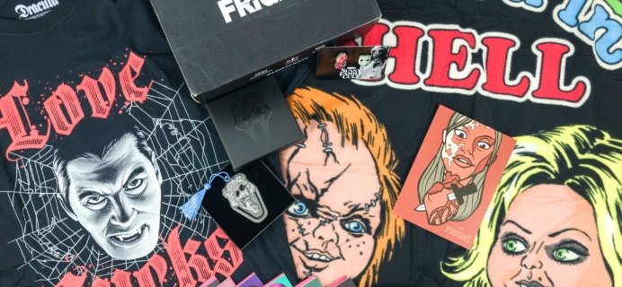 Loot Fright January 2019 Subscription Box Review + Coupon