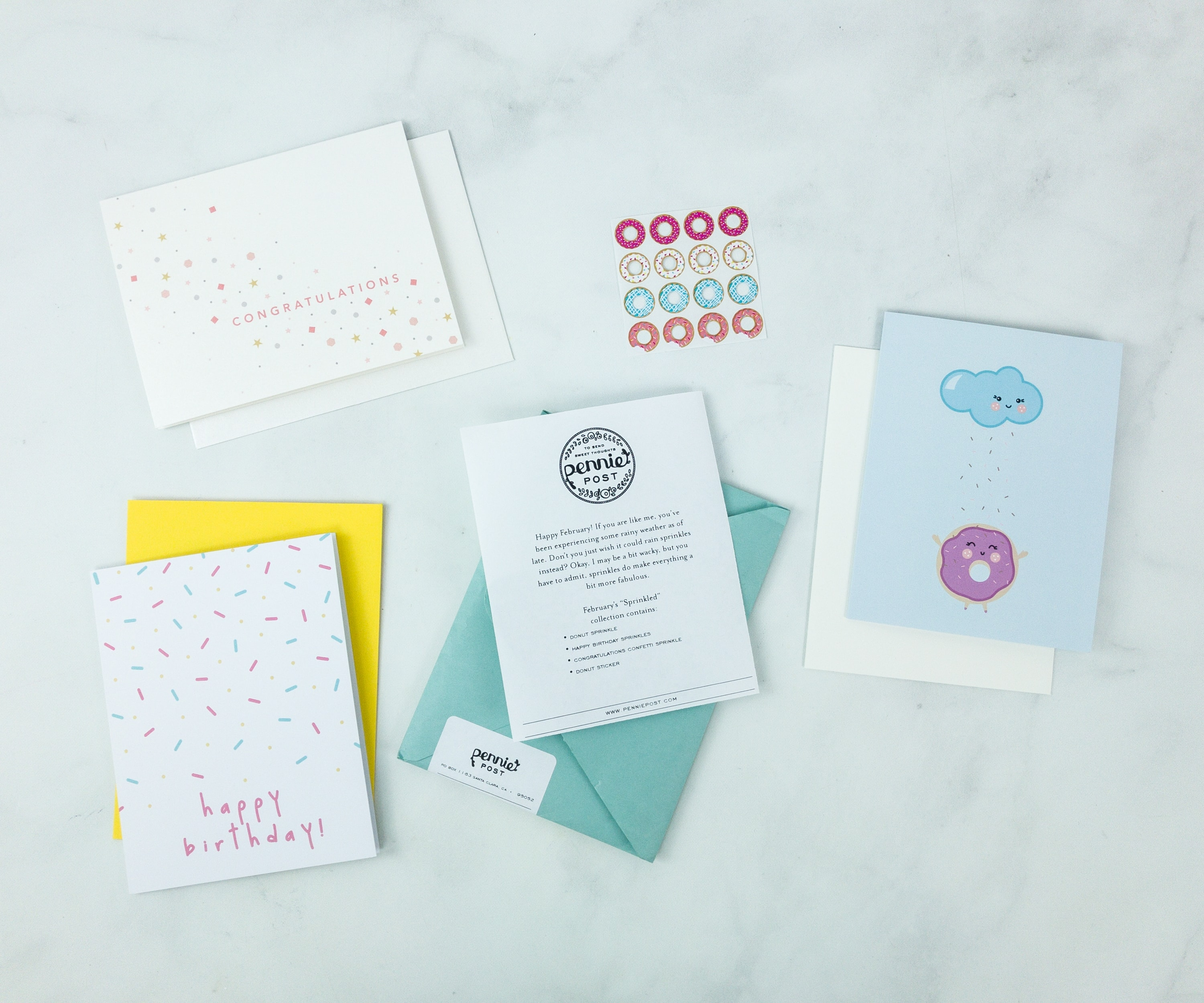 Pennie Post Stationery February 2019 Subscription Review