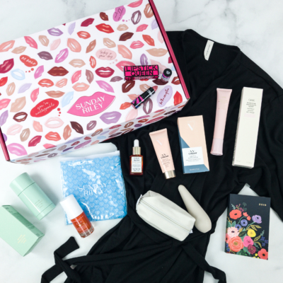 Sunday Riley Box Spring 2019 Subscription Box Review + Coupon – LOVE BOX {NSFW}