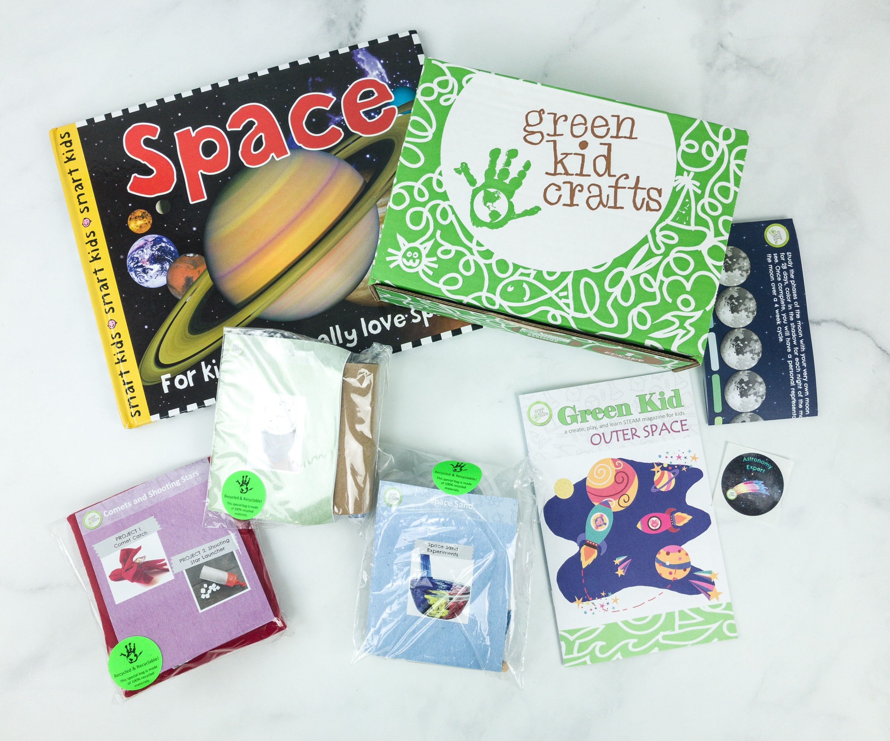 Green Kid Crafts January 2019 Subscription Box Review + 50% Off Coupon!