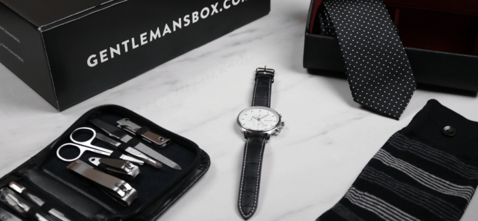 Gentleman's Box Premium Coupon: Get Your First Box For Only $80!