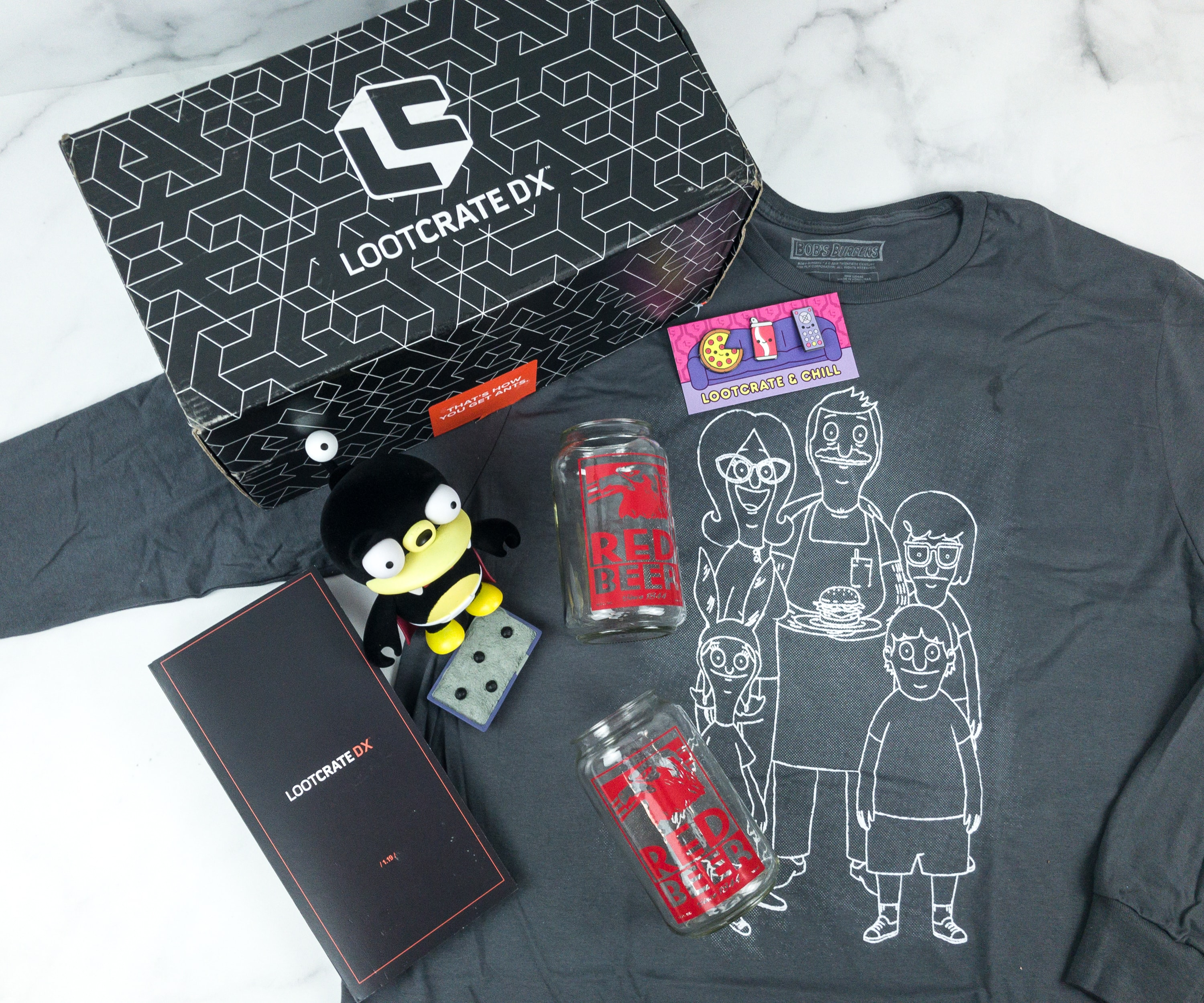 Loot Crate DX January 2019 Subscription Box Review & Coupon