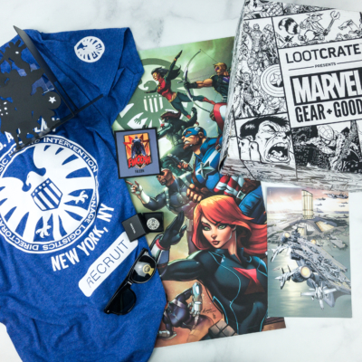 Marvel Gear + Goods January 2019 Subscription Box Review + Coupon!