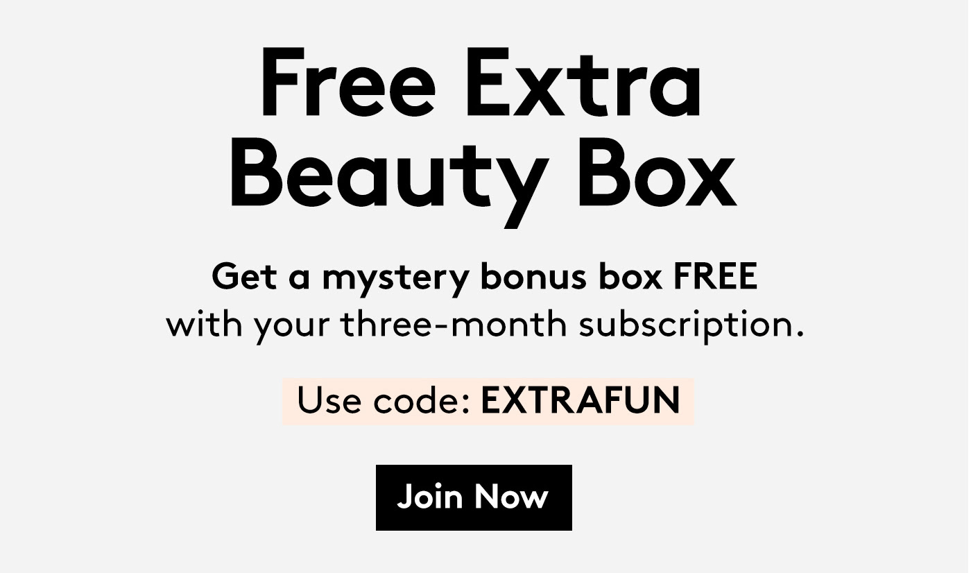 Birchbox Coupon: Get Free Extra Beauty Box With 3 Month Subscription!