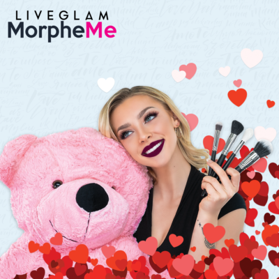 LiveGlam MorpheMe Valentine's Day Deal: Get Two Brushes FREE!