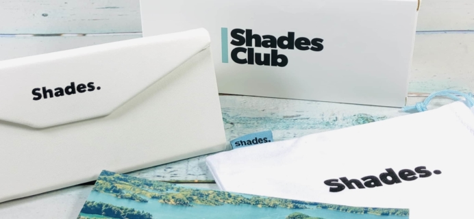 Shades Club December 2018 Subscription Box Review + Coupon
