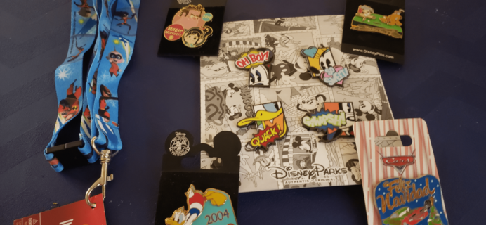 Magical Surprise Jumbo Pin Box February 2019 Full Reveal + Coupon!