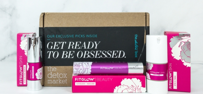 The Detox Box February 2019 Subscription Box Review