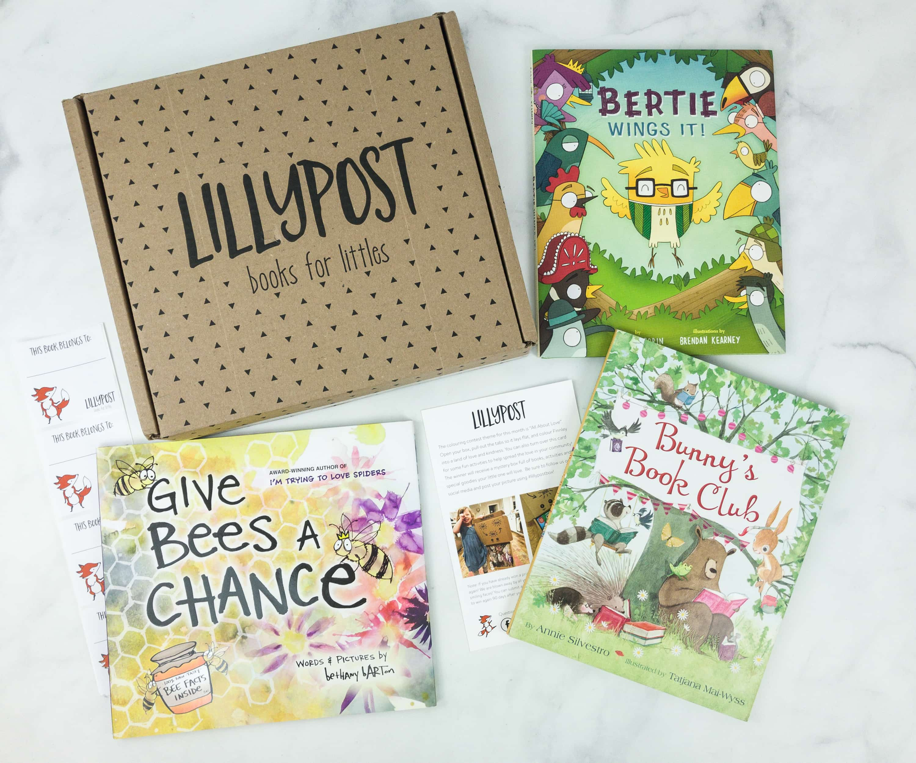 Lillypost February 2019 Board Book Subscription Box Review – PICTURE BOOKS
