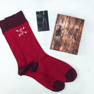 Southern Scholar February 2019 Men's Sock Subscription Box Review & Coupon