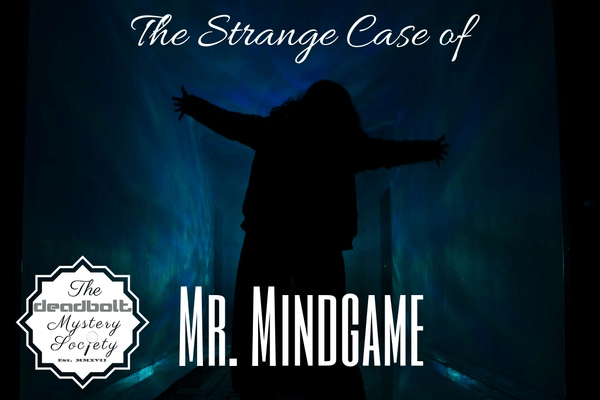 The Deadbolt Mystery Society Mr. Mindgame Full Reveal + Coupon!