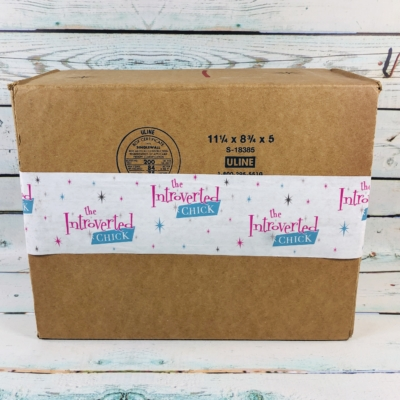 The Introverted Chick February 2019 Subscription Box Review + Coupon
