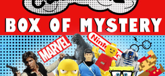 Pop Culture Mystery Box for $24.99 from That Daily Deal!