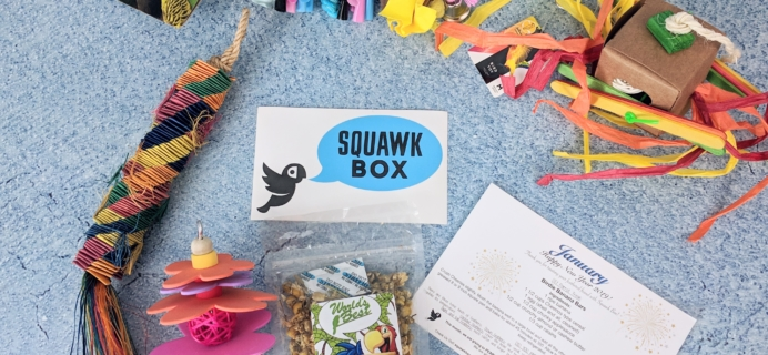 Squawk Box January 2019 Subscription Review