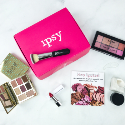 Ipsy Glambag Plus February 2019 Review