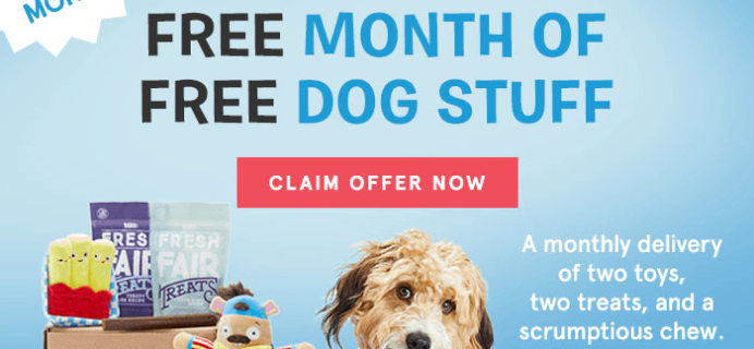BarkBox Coupon: Get Extra Month FREE with Subscription!