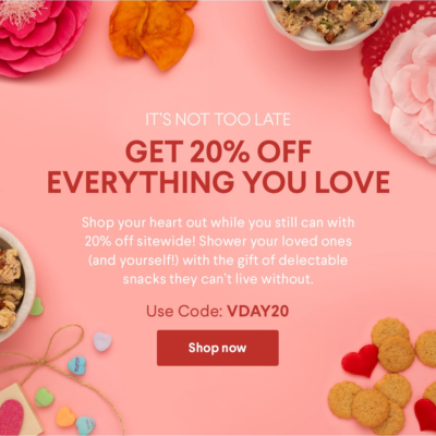 Naturebox Valentine's Day Sale: Save 20% Off Sitewide!