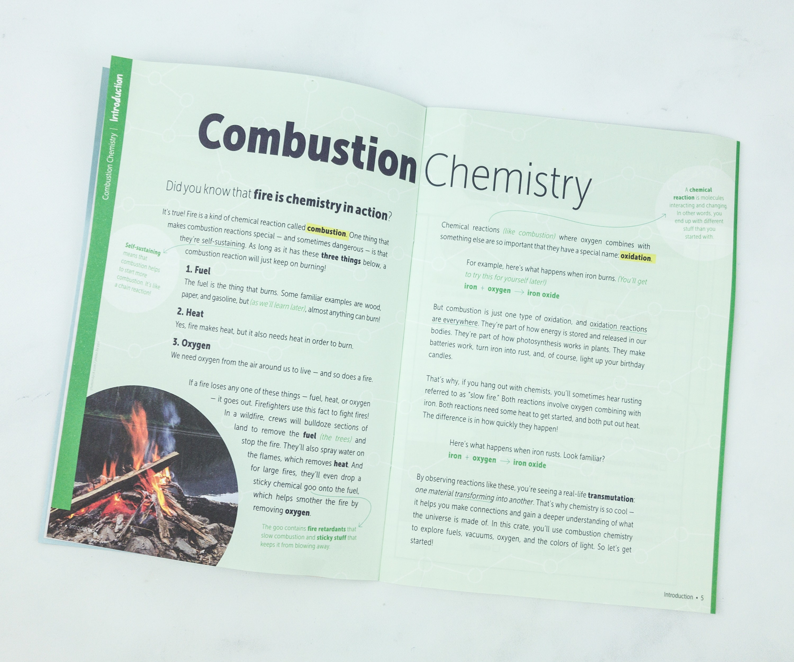 KiwiCo Chemistry Pack Fire Lab Review - hello subscription