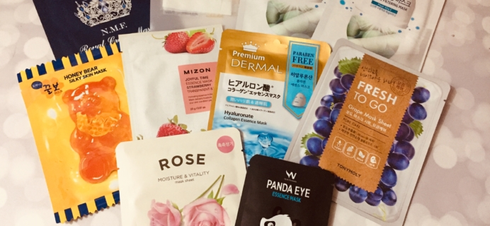Beauteque Mask Maven January 2019 Subscription Box Review + Coupon