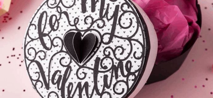 Cricut February 2019 Valentine's Day Mystery Box Available Now!