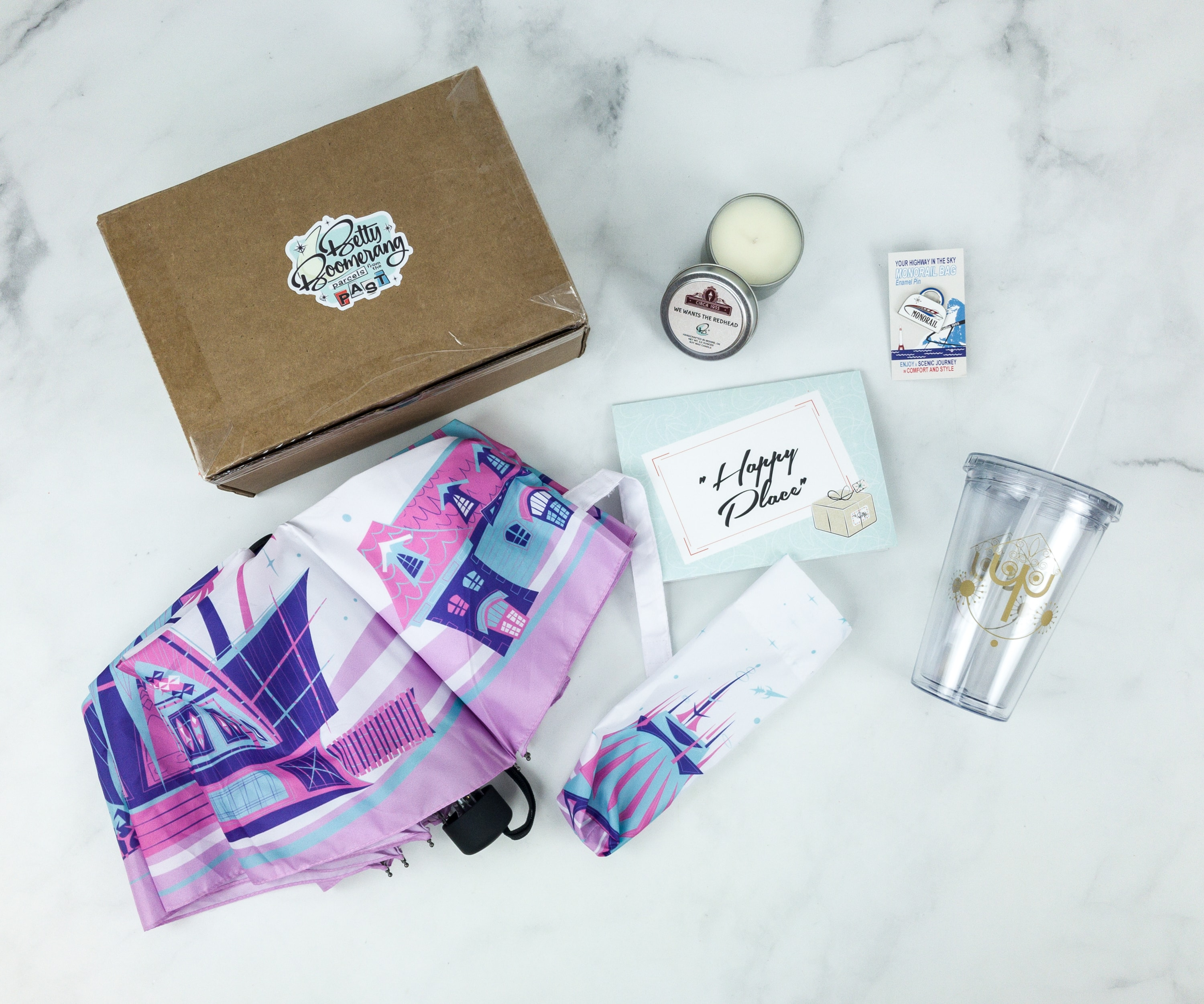 Betty Boomerang January 2019 Subscription Box Review + Coupon
