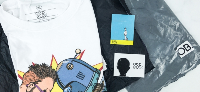 OddBlox February 2019 Subscription Box Review