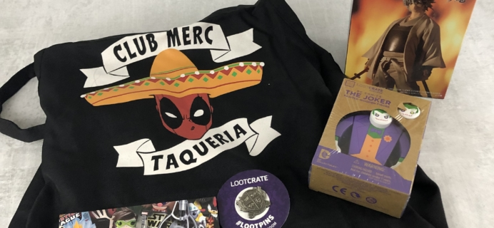 Loot Remix January 2019 Subscription Box Review + Coupon