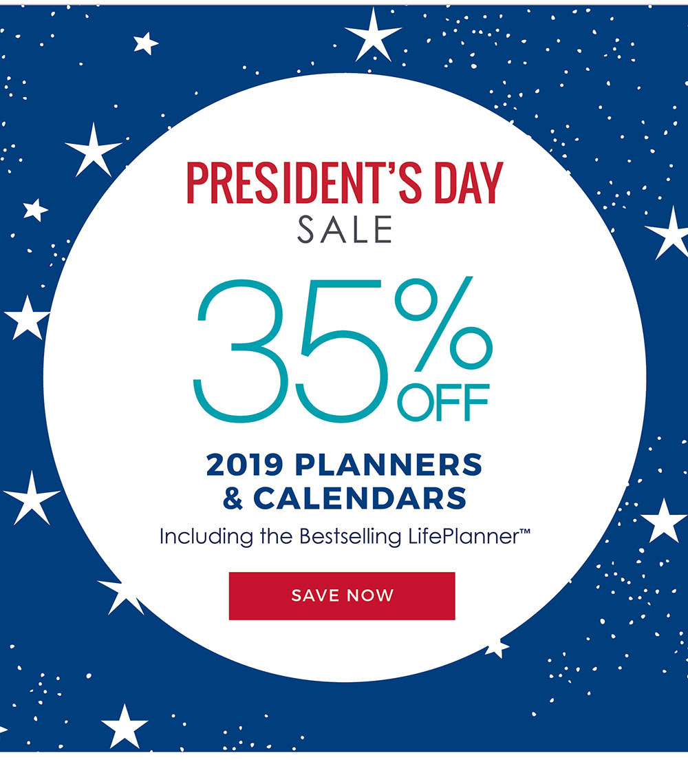 Erin Condren President's Day Sale: Get 35% Off On 2019 Planners and Calendars!