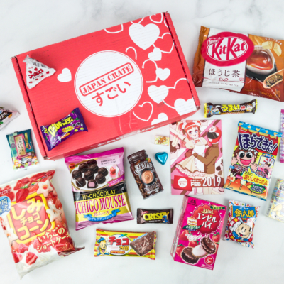 Japan Crate February 2019 Subscription Box Review + Coupon