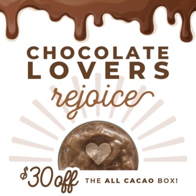 SmoothieBox Sale: Get $30 Off Your First All-Cacao Box!